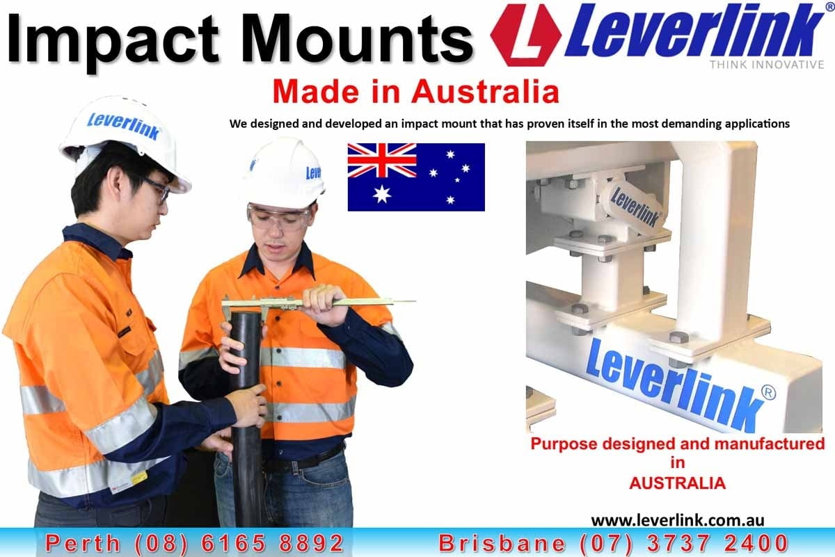 Leverlink engineers measuring impact mount