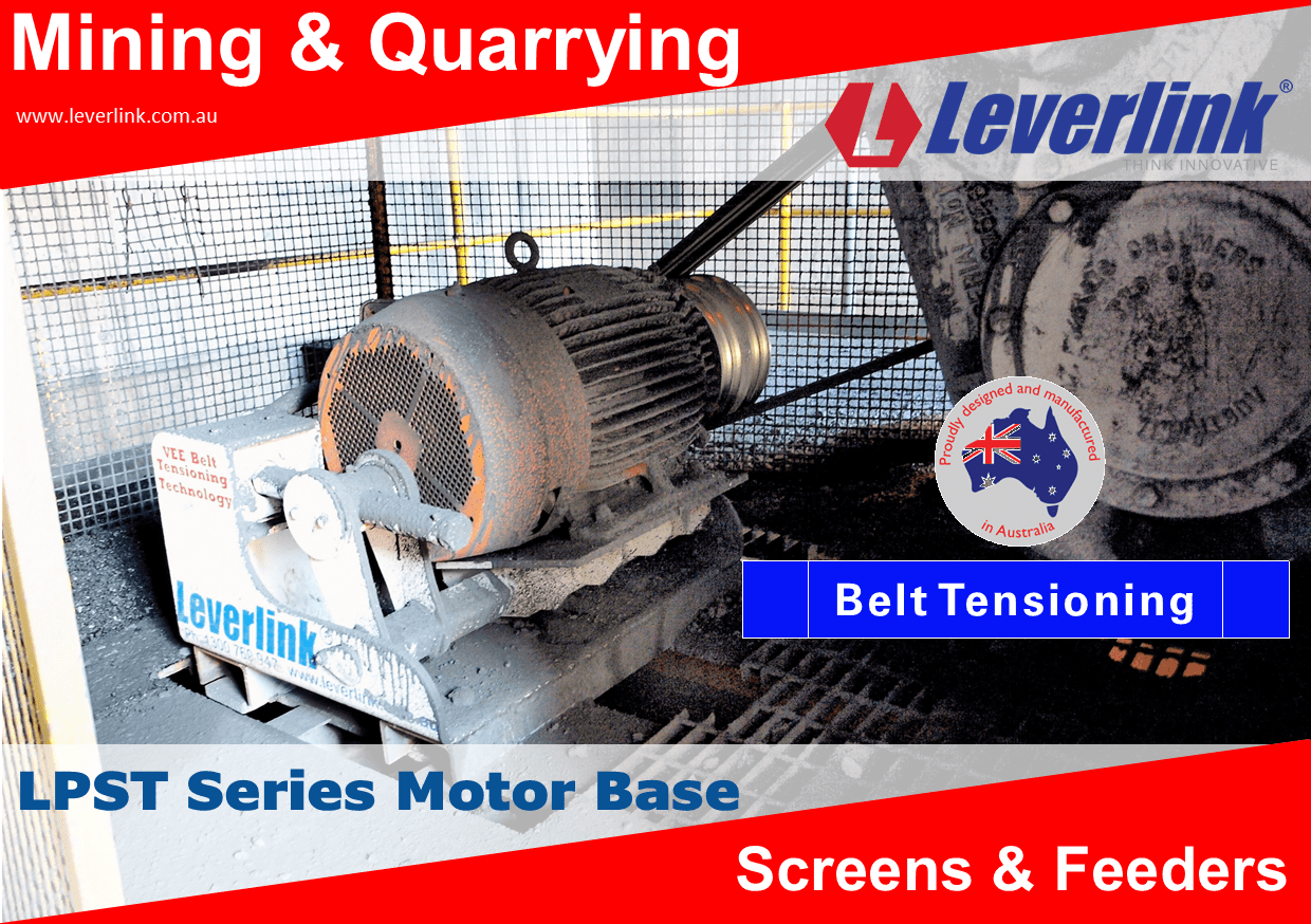 LEVERLINK-Belt-Tensioning-Quarry-Mining-Screens-and-Feeders-1