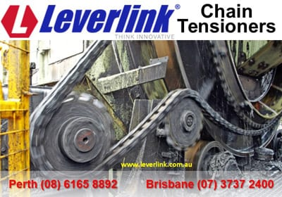 Heavy duty chain tensioner. Simplex duplex triplex. Industrial chain tensioner.