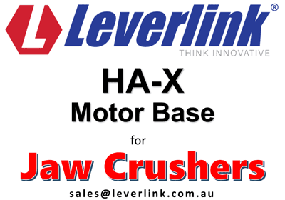 LEVERLINK HA-X-Motorbases-Crusher-Drives-Quarry-Mining-Jaw-Crusher-Belt-Tensioners-Western-Australia-Perth-Iron-Ore-Copper-Stored-Energy-1