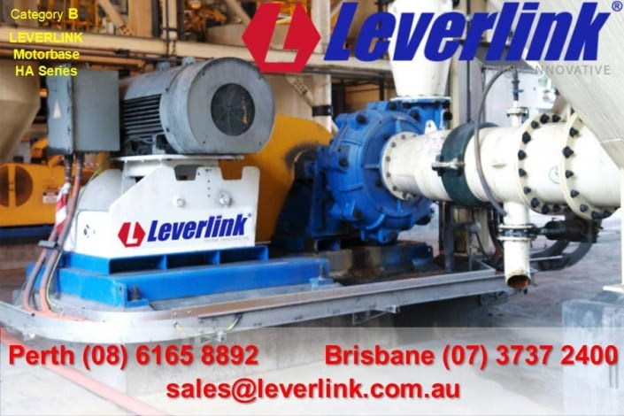 LEVERLINK-HA-Series-Motorbase-fitted-to-Warman-slurry-pump-1