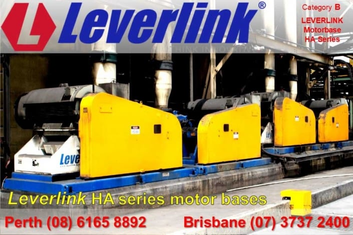 LEVERLINK HA series motorbase for slurry pumps
