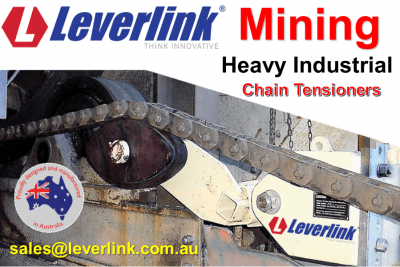 Industrial chain tensioners