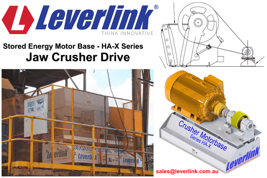 LEVERLINK-Motor-Base-Jaw-Crusher-HAX-Series-Belt-Tensioner-Quarry-Mine-Cone-Crusher-Gyratory-Crusher-Vee-Belts-Electric-motor-Western-Australia-2