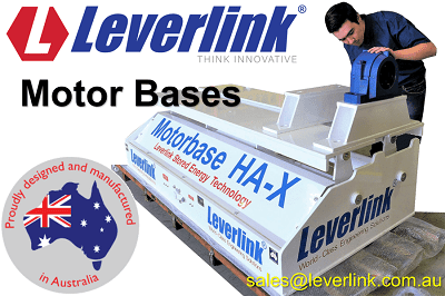 LEVERLINK-Motor-Base-Model-HAX-Jaw-Crusher-Belt-Tensioner-Quarry-Mining-Self-Tensioning-Motorbase-Stored-Energy-Westenn-Australia-Mining.