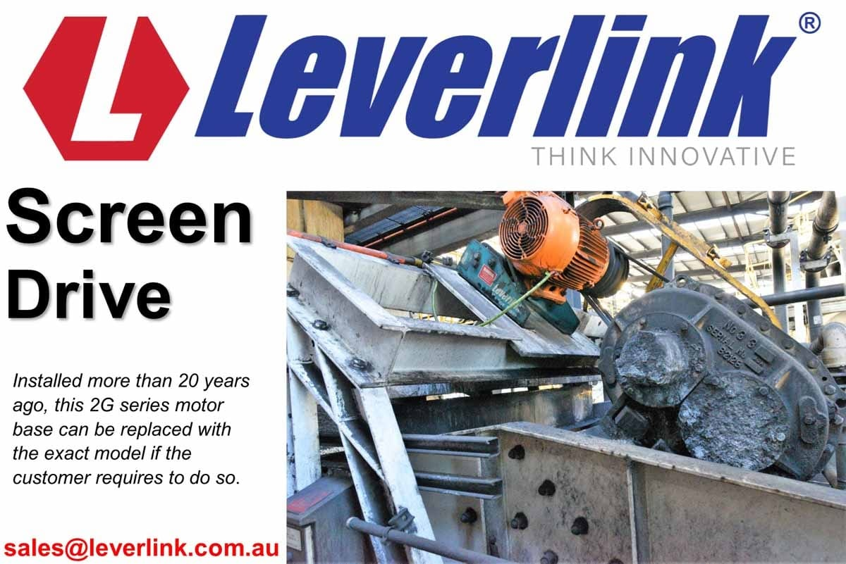 Upgrading or replacement of vibrating screen motorbase.