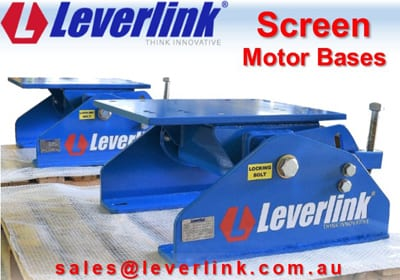 A motorbase for vibrating screen drives. Upgrade or replace motorbases according to customer requirement.