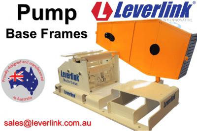 Machine base frame and guard for slurry pump