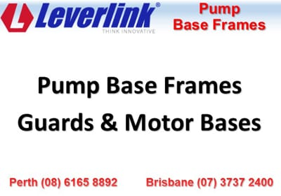 guards and motorbases slurry pumps