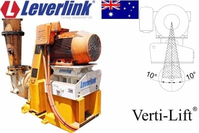 LEVERLINK VL305 Motor base Sand pump quarry