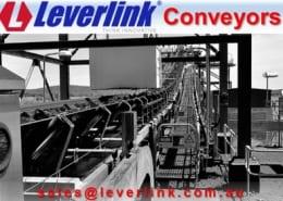 Large conveyor belt impact damage