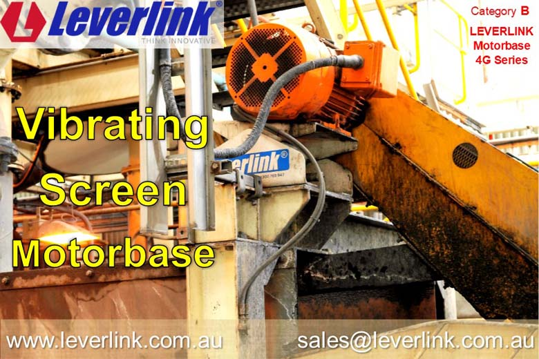 LEVERLINK-4G-motorbase-on-METSO-vibrating-screen