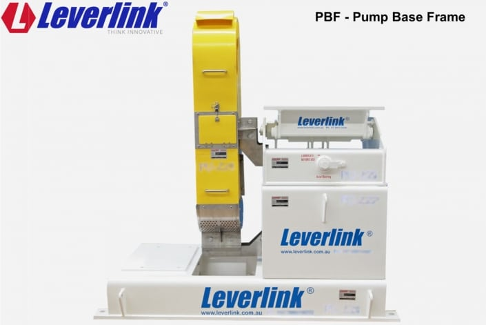 LEVERLINK pump base frame