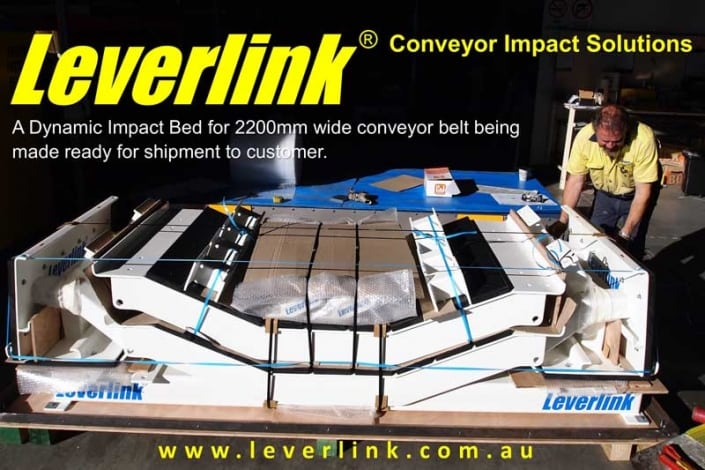 LI049. Leverlink. Conveyor load zones. Quarry. Impact beds. Slider beds. Impact bars. copy