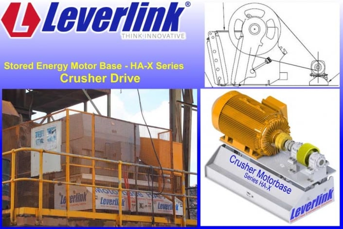 Crusher drive