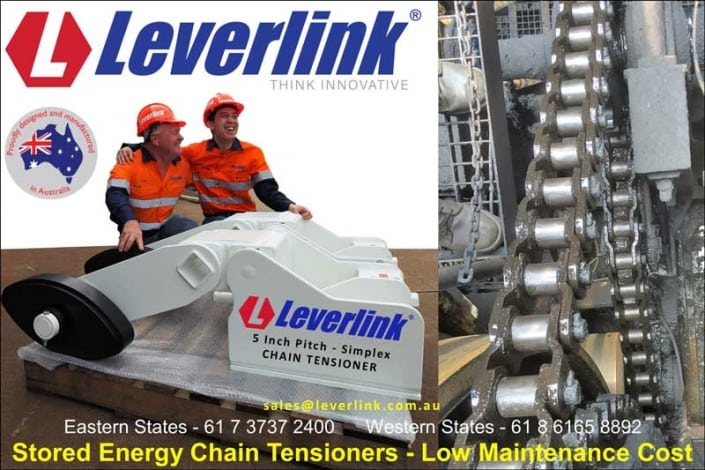 LEVERLINK Chain Tensioning Technology Simplex chain