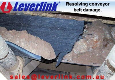 Reducing impact damage on conveyor belt systems. Reducing belt damage