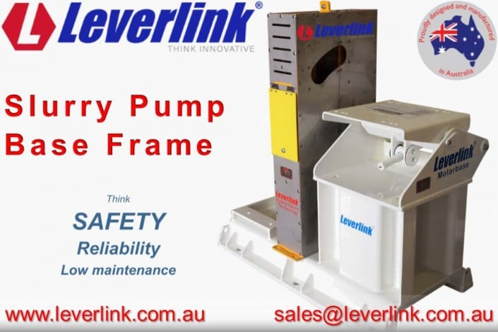 LEVERLINK slurry pump base frame