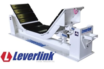 Extend conveyor life with a Leverlink Dynamic Impact Bed