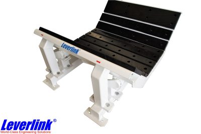 Impact damage is reduced with a Leverlink Dynamic Impact Bed